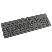 HP 803181-041 keyboard USB QWERTZ German Black