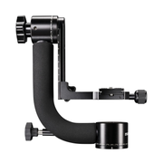 Mantona 20365 tripod head Black