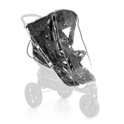 Hauck 550182 baby carriage raincover Transparent