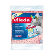 Vileda 4095 cleaning cloth Microfibre Blue, Pink 2 pc(s)