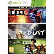 Microsoft Triple Pack: Beyond Good & Evil + Outland + From Dust, Xbox 360