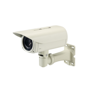 LevelOne Zoom Network Camera, 5-Megapixel, Outdoor, PoE 802.3af, Day & Night, IR LEDs, 12x, WDR