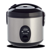 Solis 978.10 rice cooker 0.8 L 350 W Black, Stainless steel
