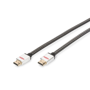 Ednet 84483 HDMI cable 5 m HDMI Type A (Standard) Black, Silver