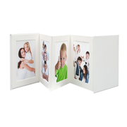 Deknudt Leporello photo album White 8 sheets 13 x 18 cm