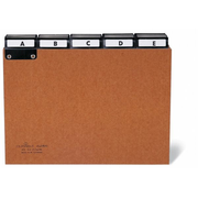 Durable 4255 index card Brown 25 pc(s)