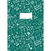 HERMA Exercise book cover A4 SCHOOLYDOO, dark green