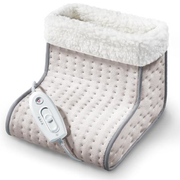 Sanitas SFW 10 electric foot warmer 100 W Beige, Grey, White