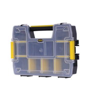 Stanley STST1-70720 small parts/tool box Black, Transparent