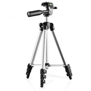 Walimex Travel I tripod Digital/film cameras 3 leg(s) Black, Silver