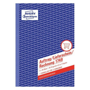 Avery 1749 accounting form/book A5 40 pages
