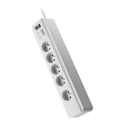 APC PM5-FR surge protector White 5 AC outlet(s) 230 V 1.83 m