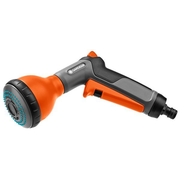 Gardena 18313-20 garden water spray gun nozzle Black, Grey, Orange