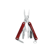 Leatherman Squirt PS4 multi tool pliers Pocket-size 9 tools Red, Silver