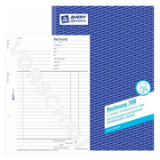 Avery 708 administration book Blue, White