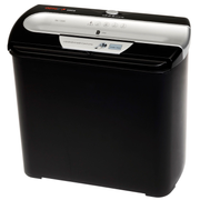 Genie 255 CD paper shredder Strip shredding 74 dB 22 cm Black, Silver