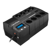 CyberPower BR700ELCD uninterruptible power supply (UPS) Line-Interactive 0.7 kVA 420 W 8 AC outlet(s)