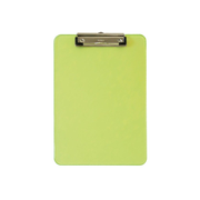 MAUL 2340651 clipboard A4 Plastic Transparent, Yellow
