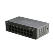 Cisco Small Business SF110-16 Unmanaged L2 Fast Ethernet (10/100) Black