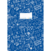 HERMA Exercise book cover A4 SCHOOLYDOO, dark blue