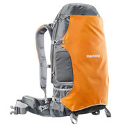Mantona ElementsPro 40 Backpack case Grey, Orange