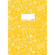 HERMA Exercise book cover A4 SCHOOLYDOO, yellow