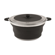Outwell Collaps Pot 4.5 L Black, Stainless steel