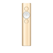 Logitech Spotlight Funk-Presenter Bluetooth/RF Gold