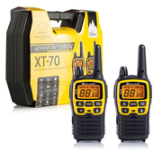 Midland XT70 Adventure two-way radio 93 channels 433.075 - 446.09375 MHz Black, Yellow