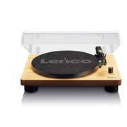 Lenco LS-50 Belt-drive audio turntable Wood