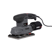Powerplus POWE40010 portable sander Orbital sander 12000 RPM Black, Grey