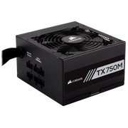 Corsair TX750M power supply unit 750 W 20+4 pin ATX ATX Black