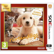 Nintendo Nintendogs + Cats: Golden Retriever, 3DS Basic French Nintendo 3DS