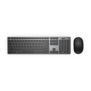 DELL KM717 keyboard RF Wireless + Bluetooth QWERTY UK English Black, Grey