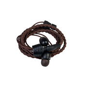 Wraps Classic Headphones In-ear 3.5 mm connector Brown