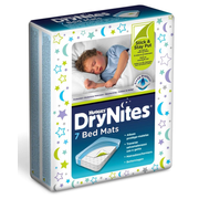 Huggies DryNites baby mattress pad 7 pc(s) White Disposable