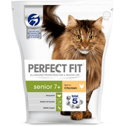 Perfect Fit 354801 cats dry food 750 g Senior Chicken