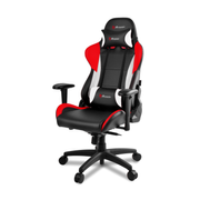 Arozzi Verona Pro V2 PC gaming chair Upholstered padded seat Black, Red, White