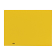 Biella 0253427.20 folder Carton Yellow A4
