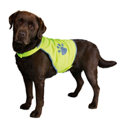 TRIXIE 30082 dog safety vest M Polyester Green