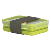 EMSA 518098 lunch box Lunch container 1.2 L Polypropylene (PP), Thermoplastic elastomer (TPE) Green, Transparent 1 pc(s)