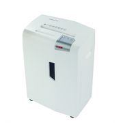 HSM X15 paper shredder Particle-cut shredding 57 dB 23 cm Silver, White
