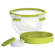 EMSA 518097 lunch box Lunch container 1 L Polypropylene (PP), Thermoplastic elastomer (TPE) Green, Transparent 1 pc(s)