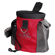TRIXIE 32283 dog treat bag Polyester Grey, Red