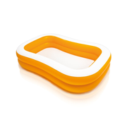 Intex 57181 above ground pool Inflatable pool Oval White, Yellow