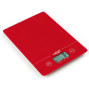 Adler AD 3138 Red Countertop Rectangle Electronic kitchen scale