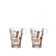 LEONARDO LaVita cup Brown, Transparent Coffee 2 pc(s)
