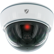 Schwaiger HSD200 512 dummy security camera White Dome