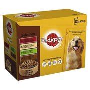 Pedigree 348488 dogs moist food Poultry Adult 100 g