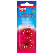 Dr. Oetker 1-46-209302 wax candle Other Multicolour 1 pc(s)